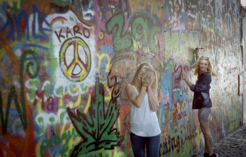 john lennon wall prague via flickr by David Ramos