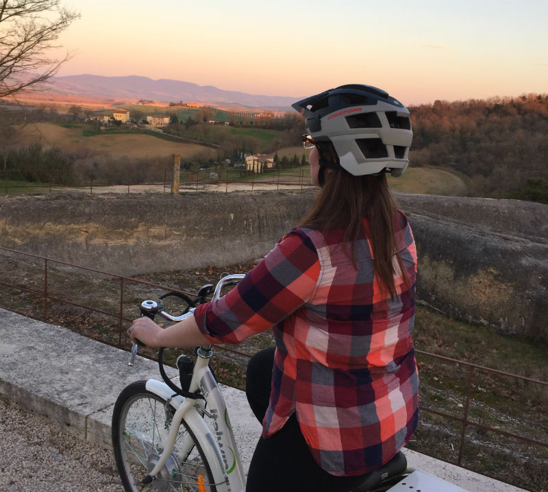 e bike tuscany adler thermae eileen cotter wright